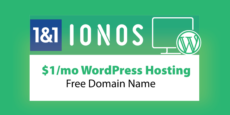 ionos-wordpress-hosting-free-domain