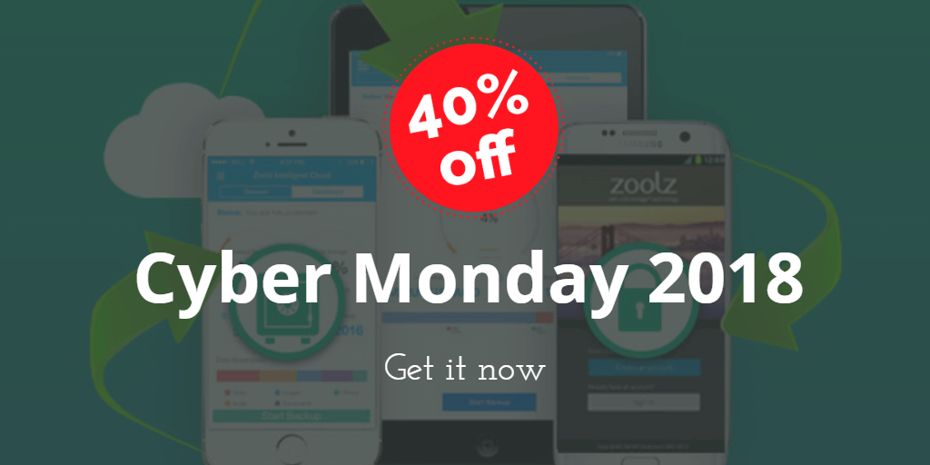 zoolz cloud storage lifetime subscription -cyber-monday-2018