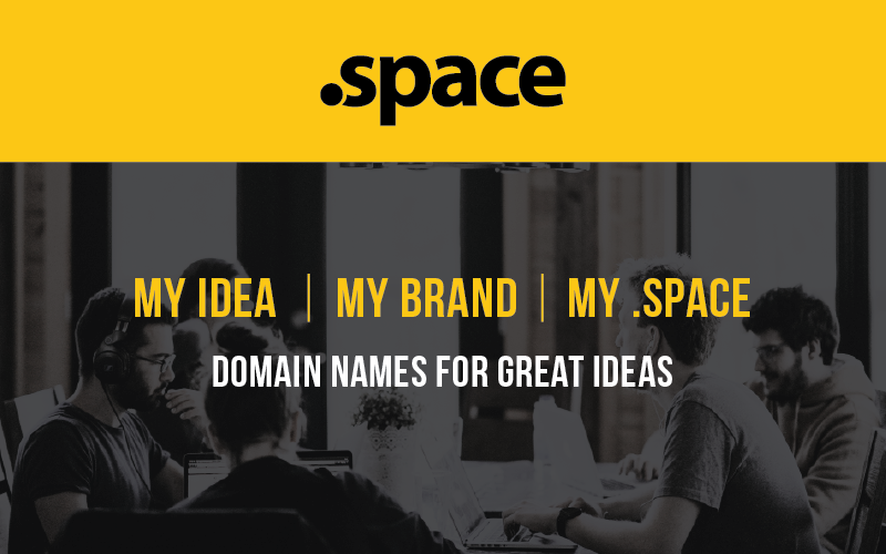 SPACE DOMAIN NAME registration