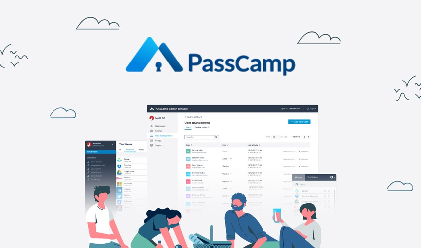 passcamp password manager
