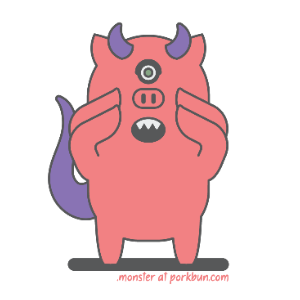 porkbun-monster