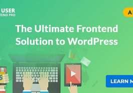 wp-user-front-end-pro wordpress