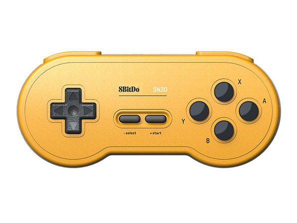8BitDo® SN30 Bluetooth Gamepad (Yellow color)