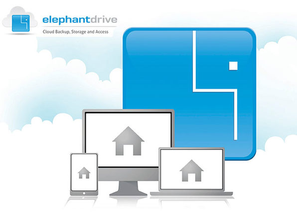 ElephantDrive 1,000GB Plan: 2-Yr Subscription