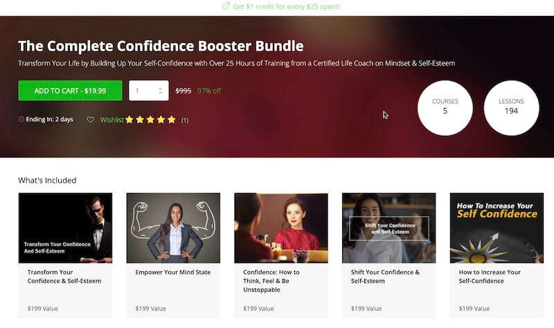 The Complete Confidence Booster Bundle