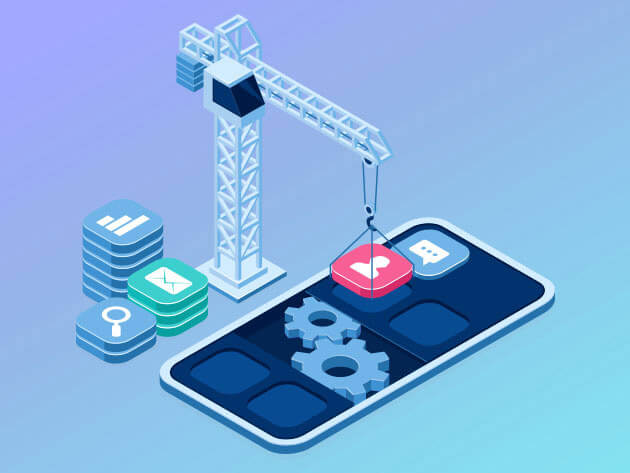 The Complete Mobile & App Development Bundle Program, Design & Build Amazing Apps for Both Android and iOS with 71 Hours of Content on Java, React Native, Git, and More
