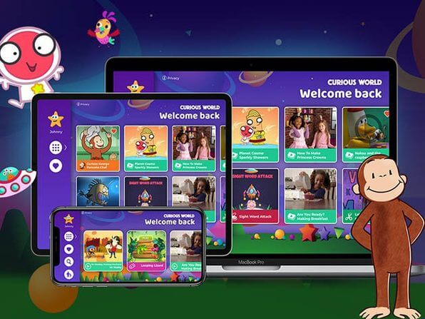 Designed for kids and loved by parents: Curious World Language Learning App for Kids